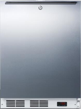AccuCold  ACF48WSSHH Compact Freezer Stainless Steel, Main Image