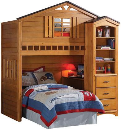 Acme Furniture Tree House 10160BC Bedroom Set Brown, 2 PC Set