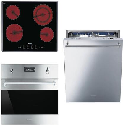 Smeg 890637 Kitchen Appliance Package & Bundle Stainless Steel, 1