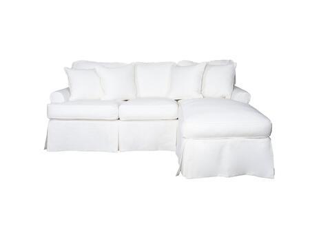 Sunset Trading Horizon SU117678391081 Sofa Bed White, SU117678391081 Main Image