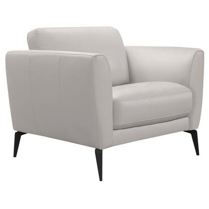 Armen Living Hope LCHP1GR Living Room Chair Gray, LCHP1GR