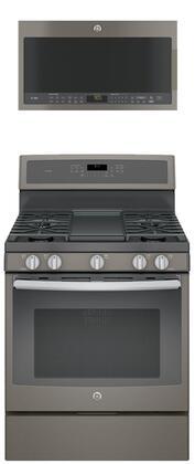 GE Profile 684020 Kitchen Appliance Package & Bundle Slate, main image