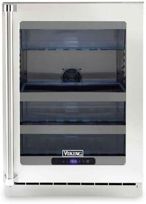 Viking 5 Series VURE524GSS Compact Refrigerator Stainless Steel, VURE524GSS Compact Refrigerator