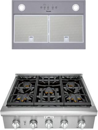 Thermador  1071340 Kitchen Appliance Package Stainless Steel, main image