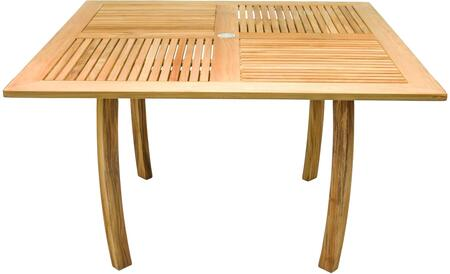 Royal Teak Collection Dolphin DP50S Outdoor Patio Table Brown, DP50S Main Image