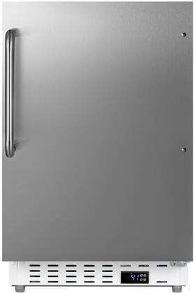 Summit  ALR46WCSS Compact Refrigerator Stainless Steel, ALR46WCSS ADA Compliant Compact Refrigerator