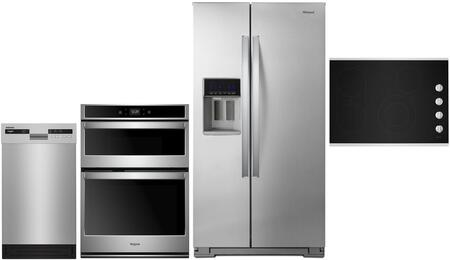 Whirlpool  1010022 Kitchen Appliance Package Stainless Steel, main image