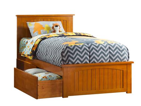 Atlantic Furniture Nantucket AR8216117 Bed Brown, AR8216117 SILO BD2 30