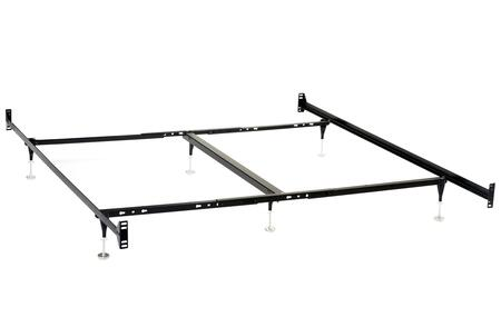 Coaster  9602QK Stationary Bed Frames Black, Main Image