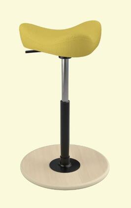 Varier Move Small MOVESMALL2700STEELCUTTRIO2453NATSMBLK Office Stool, Main Image