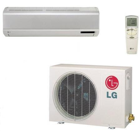 LG LS186CE Mini Split Air Conditioner White, Main Image