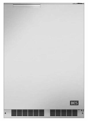 DCS  RF24RE3 Compact Refrigerator Stainless Steel, Main Image