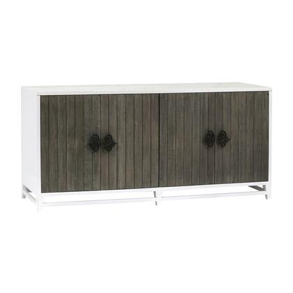 17289 Draper Credenza  in Grain de Bois Blanc  Weathered Grey  Weathered