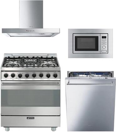 Smeg 890345 Kitchen Appliance Package & Bundle Stainless Steel, main image