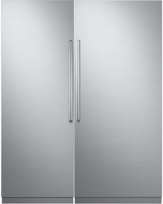 Dacor Modernist 772365 Column Refrigerator & Freezer Set Stainless Steel, 1