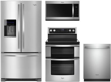 Whirlpool  991601 Kitchen Appliance Package Stainless Steel, 1