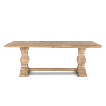 Pengrove Collection ZWPG7238 Dining Table in Light Brown