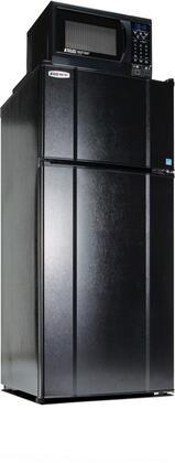 MicroFridge  103LMF49D1 Top Freezer Refrigerator Black, 10.3RMF4 9D1 Main Image