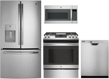 GE 1135425 Kitchen Appliance Package & Bundle Stainless Steel, main image