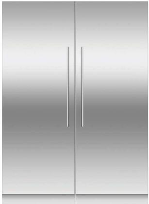 Fisher Paykel  966383 Column Refrigerator & Freezer Set Stainless Steel, 1