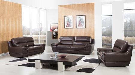American Eagle Furniture EK018 EK018DB Living Room Set Brown, main image