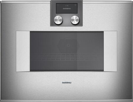 Gaggenau 400 Series BM451710 Single Wall Oven Stainless Steel, Main Image