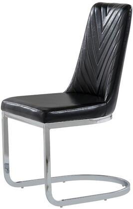 Global Furniture USA D1067 D1067DCBL Dining Room Chair Black, Main Image