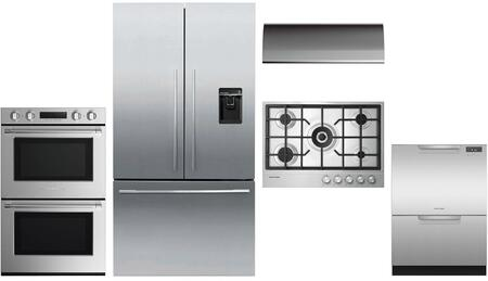 Fisher Paykel  1147328 Kitchen Appliance Package Stainless Steel, Main image