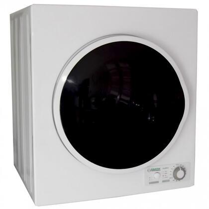 Equator  ED850V Electric Dryer White, Front
