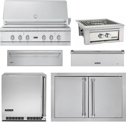 Viking 5 Series 889624 Outdoor Kitchen Equipment Packages Stainless Steel, main image