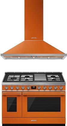 Smeg  974014 Kitchen Appliance Package Orange, 1