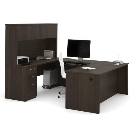 Bestar Furniture Embassy 6089779 Office Desk Brown, Main Image