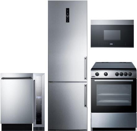 Summit 1113589 Kitchen Appliance Package & Bundle Stainless Steel, main image