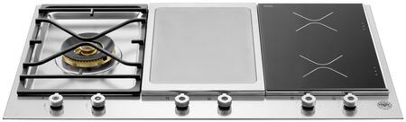 Bertazzoni Professional PM361IGX Gas Cooktop Stainless Steel, PM361IGX  36 Segmented Cooktop