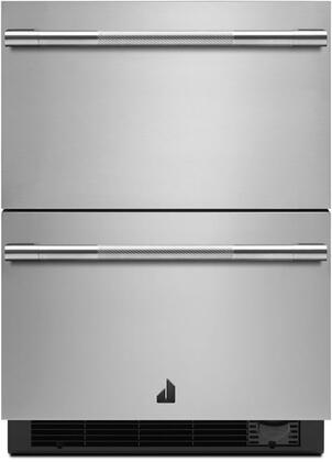Jenn-Air Rise JUCFP242HL Drawer Refrigerator Stainless Steel, JUCFP242HL Front View