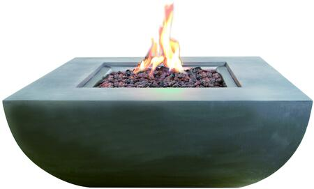 Modeno OFG135LP Outdoor Fire Pit Gray, Main Image