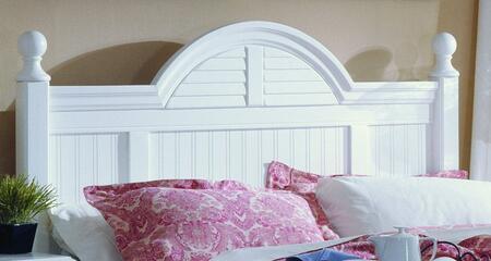 Carolina Furniture Carolina Cottage 417860983000 Bed White, Main Image