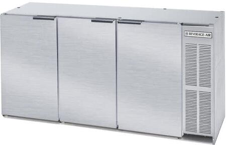 Beverage-Air  BB72HC1FPTS Back Bar Cooler Stainless Steel, Main Image