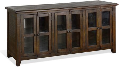 3628TL-70 70″ TV Console  in Tobacco