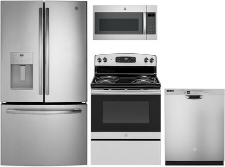 GE 1086998 Kitchen Appliance Package & Bundle Stainless Steel, main image