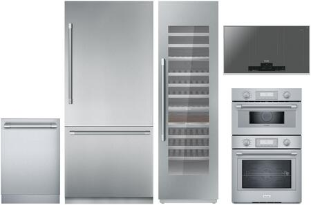 Thermador Freedom 1311402 Kitchen Appliance Package Stainless Steel, Main image