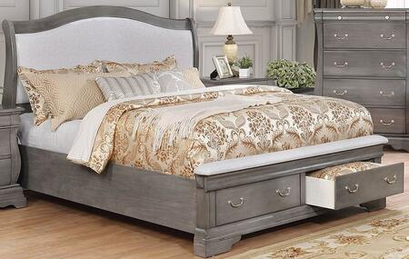 Furniture of America Merida CM7504GY-CK-BED Main Image