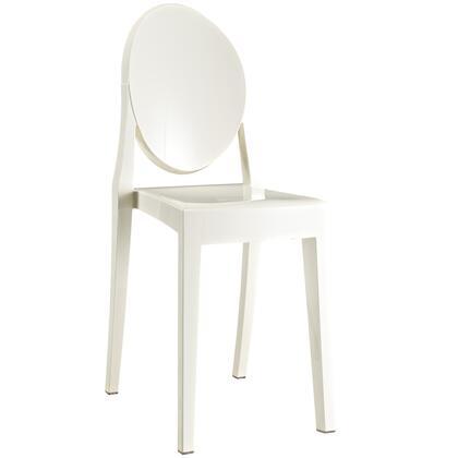 Modway Casper EEI122WHI Dining Room Chair White, 1