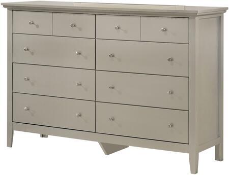 Glory Furniture Hammond G5403D Dresser Silver, G5403D Main Image