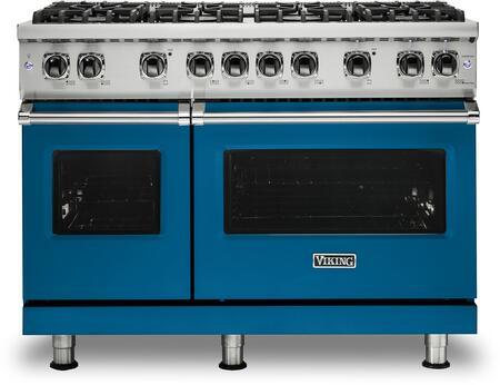 Viking 5 Series VGR5488BABLP Freestanding Gas Range Blue, VGR5488BABLP Gas Range