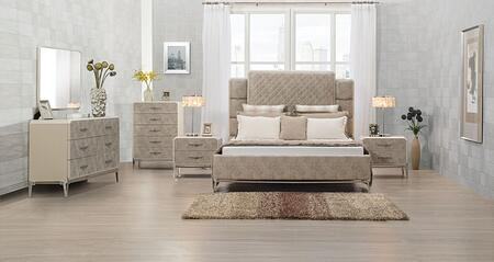 Acme Furniture Kordal 27194CKSET Bedroom Set Beige, Bedroom Set