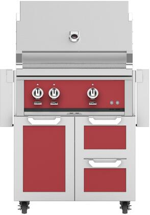Hestan  852536 Natural Gas Grill Red, Main Image