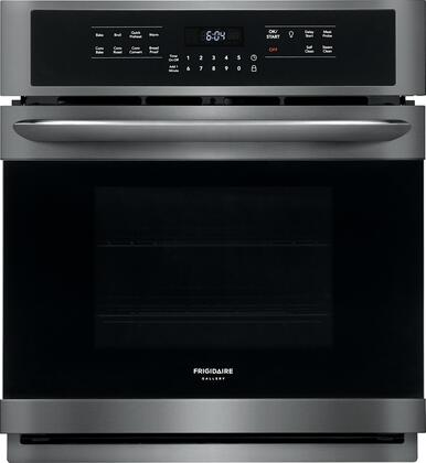 Frigidaire Gallery FGEW2766UD Single Wall Oven Black Stainless Steel, Main Image