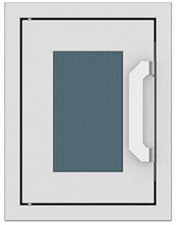 AGPTD16-GG 16″ Pacific Fog Dark Grey Paper Towel Dispenser with Marquise Accent