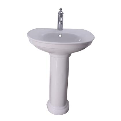 3-441WH Carlson Pedestal with 1 Hole  Overflow